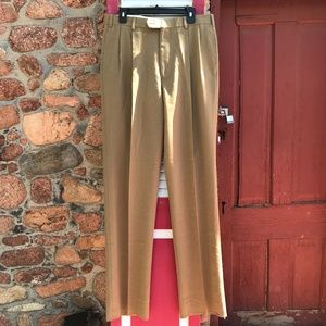 NEW Brooks Brothers 100% Wool Tan Pants Size 34R